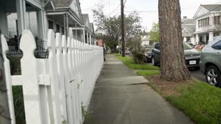 New Orleans La 3 11 17 Picket Fence Of Typical Historic Homes 4 K
