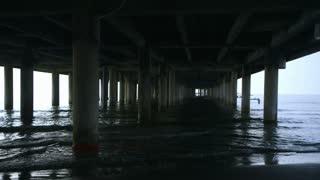 view under the pier