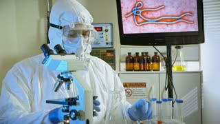 virologist looking for cure of  Ebola virus