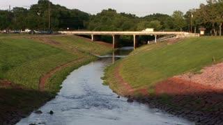 water drainage highway