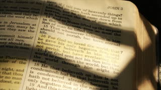wide shot john 16 in bible