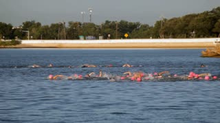 womens swimming triathalon