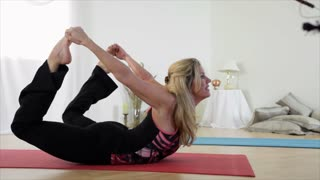 Yoga Bow to Child Pose