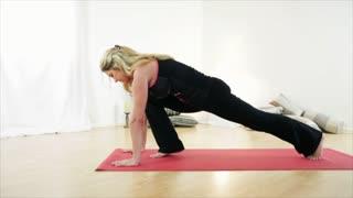 Yoga Down Dog Pose