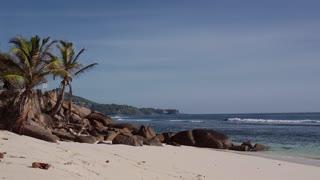 Paradise Beach in Seychelles