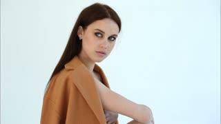 Photoshoot beautiful model girl