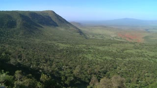 Beautiful overview of the Rift Valley in Kenya.