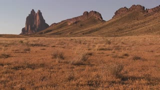 The magnificent monument of Shiprock New Mexico.