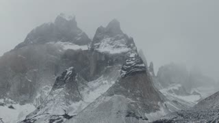 The majestic mountain peaks of Torres Del Paine in Argentina.