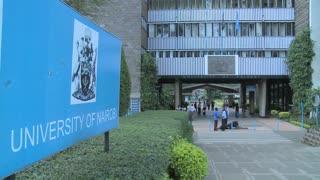 The University of Nairobi campus in Kenya.