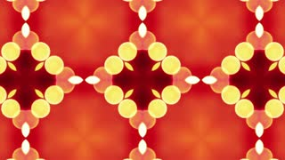 4K Colorful looping kaleidoscope sequence. Abstract motion graphics background. beautiful