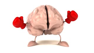 Brain boxing - 3D Animation