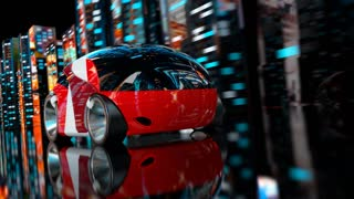 Car racing - 3D Animation