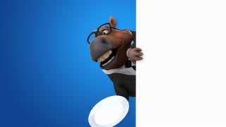 Fun horse - 3D Animation