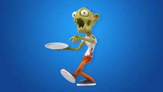 Fun zombie - 3D Animation