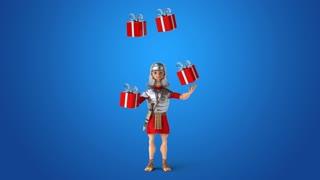 Roman soldier - 3D Animation