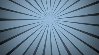 Abstract background radial rays blue grey colour. Clockwise rotation. Blue gray background. Modern fashion colour and pattern. Nice for wedding birthday new year concept. Slow motion light movie