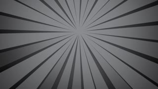 Abstract background radial rays grey colour. Clockwise rotation. Gray background. Modern fashion colour and pattern. Nice for wedding birthday new year concept. Slow motion light movie