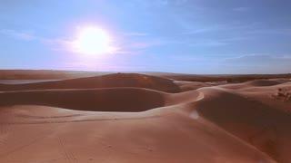 Desert horizon Panning.