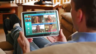 4K Video Chatting on a Tablet PC