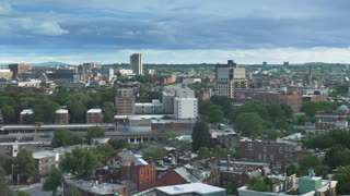 A daytime timelapse view of Boston's South End in the Summer.