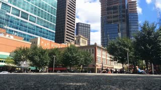 A timelapse view of the activity at Market Square in downtown Pittsburgh, PA.