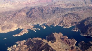 Aerial Over Lake Mead
