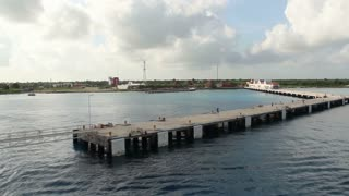 Approaching Cozumel Mexico Time Lapse