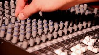 Audio Technician with Board