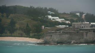 Bermuda Coastline as Seen from Oceanliner