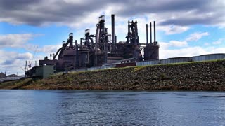 Bethlehem Steel Factory Establishing Shot