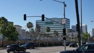 Beverly Hills Establishing Shot