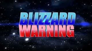 Blizzard Warning Background