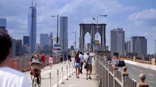 Brooklyn Bridge Pedestrians