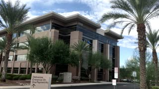 CHANDLER, AZ - Circa October, 2015 - An  establishing shot of PayPal's office in  Chandler, Arizona.