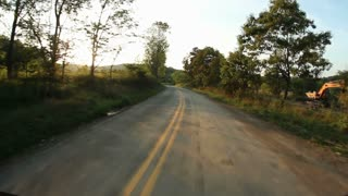 Country Road Driving POV