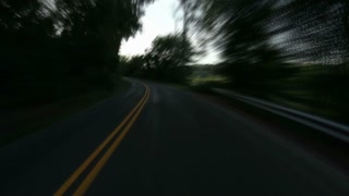 Countryside Windy Road Timelapse 2642