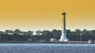 Cozumel Lighthouse as Seen from Ocean Liner