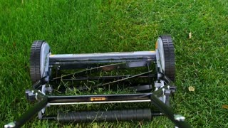 Cutting the Grass POV Push Mower Manual