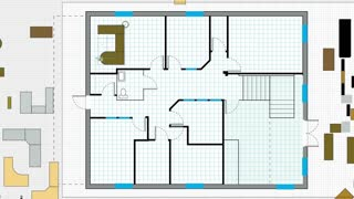 Designing Office Floor Plan 1683