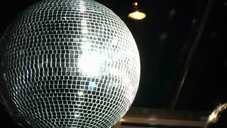 Disco Ball Detail Background