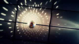 Disco Ball on Ceiling at Wedding Background - 2 Color Options