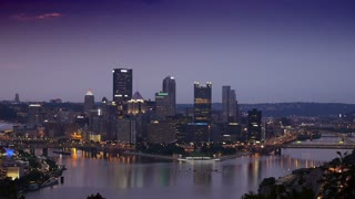 Early Morning Over Pittsburgh 3575
