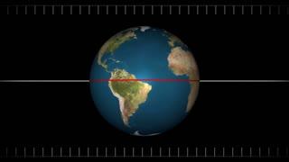 Earth Precession Animation