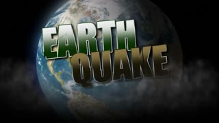 Earthquake Title Background