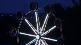 Ferris Wheel at Carnival at Night