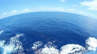 Fisheye Ocean Horizon Wide Angle Lens