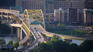 Fort Duquesne Bridge Traffic