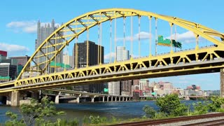Fort Pitt Bridge Timelapse 2499