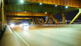 Fort Pitt Bridge Traffic Timelapse